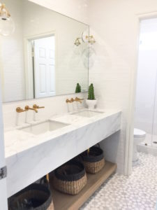 Bathroom Vanity Marble Counter for a Timeless Look