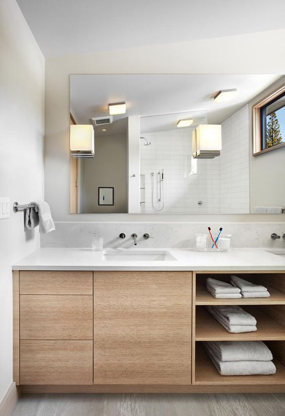 Bathroom Vanity with Lots of Storage Space