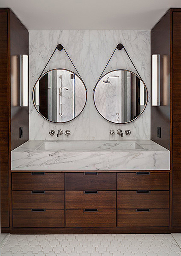 Built In Bathroom Vanities