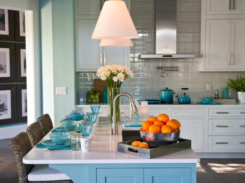 Ceramic Tile Backsplash Kitchen Design at HGTV