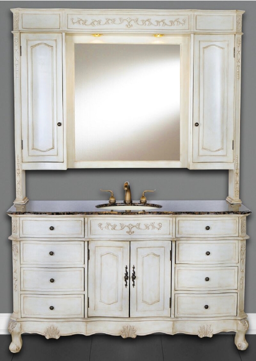 DWI Dragon Bathroom Vanities White