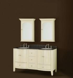 DWI Dragon Double Bathroom Vanities Soho Collection Light Cabinets