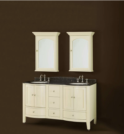 DWI Dragon Double Bathroom Vanities Soho Collection Light Cabinets