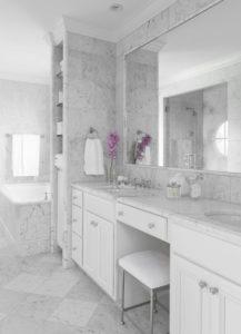 Double Bathroom Vanities Design Idea