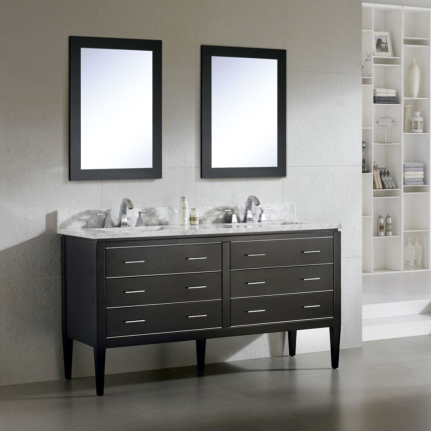Dowell Bathroom Vanity Cabinets Black