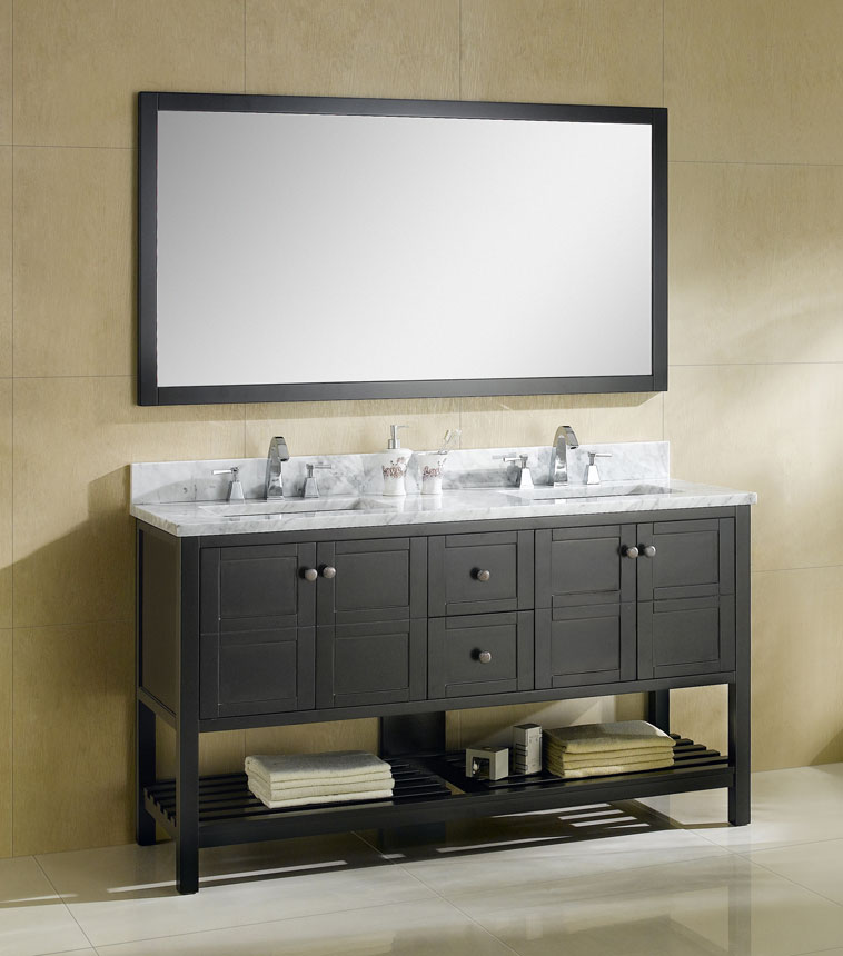 Dowell Bathroom Vanities in Espresso Finish