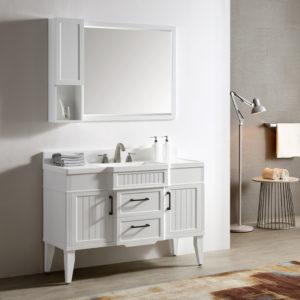 Dowell Single Bathroom Vanities White
