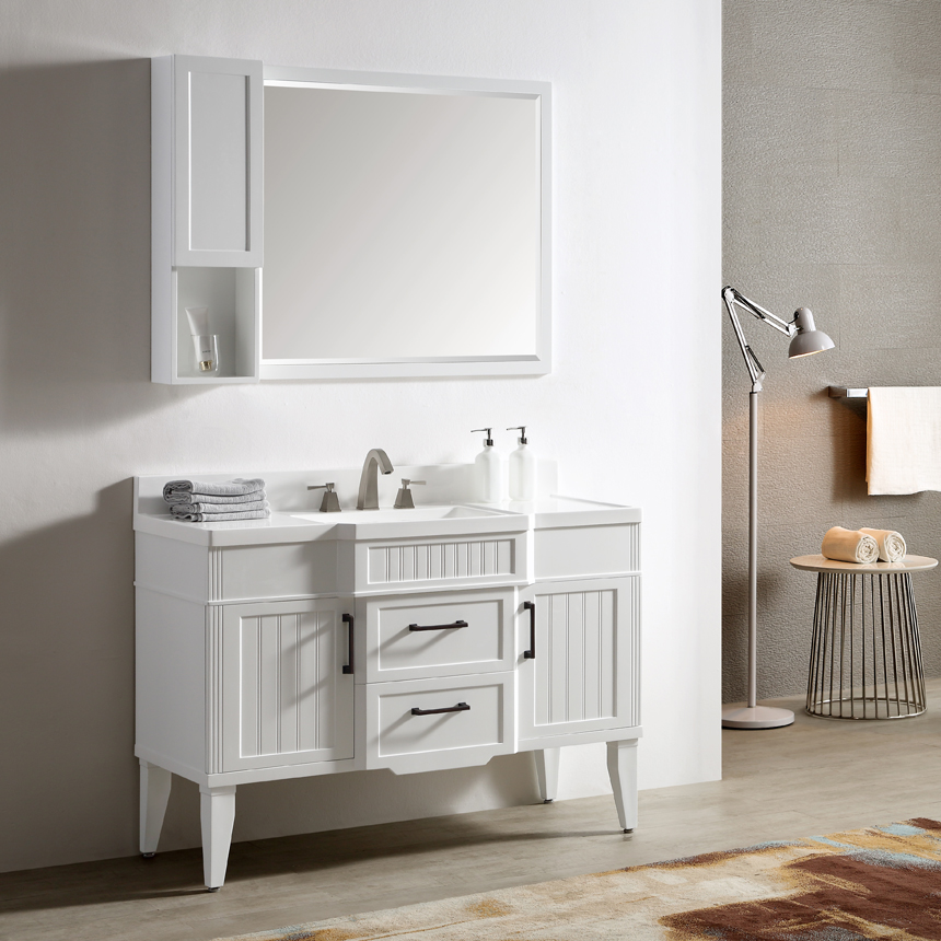 Dowell Single Bathroom Vanities White