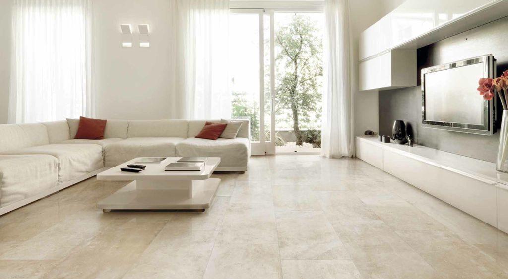 porcelain tile living room contemporary design