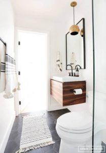 Small Bathroom Single Sink Vanity Idea