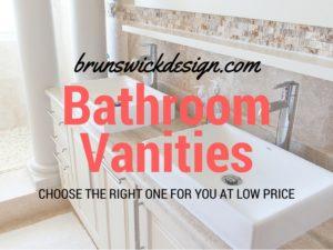 Bathroom Vanity Brunswick Design
