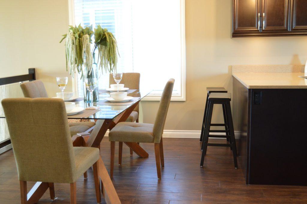 Porcelain Tile Dining Room Design