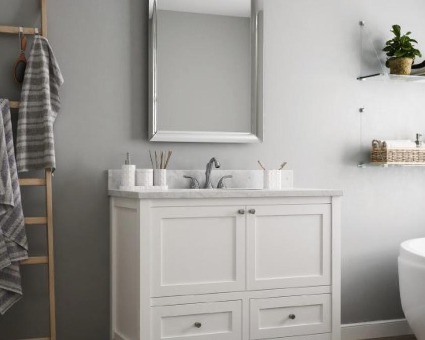 Vanities For An Industrial Style Bathroom