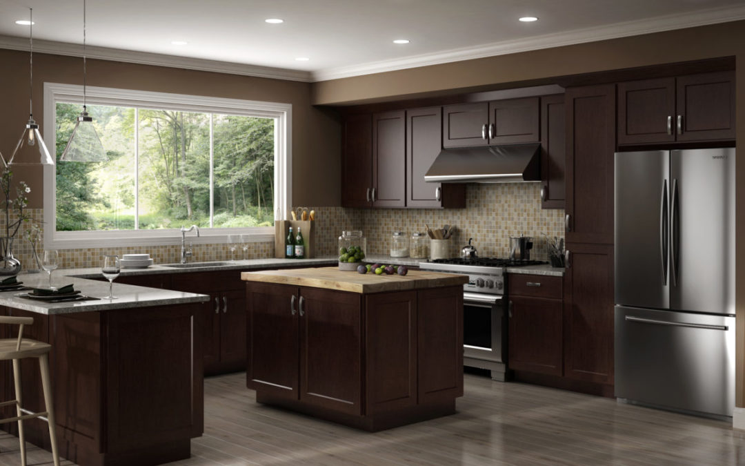 Choosing Cabinets for a Colonial Style Kitchen - Brunswick ...